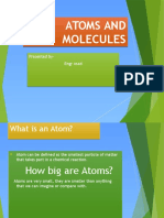 Atom and Moclecule