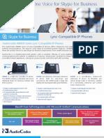 AudioCodes 400HD Series Lync-Compatible IP Phones
