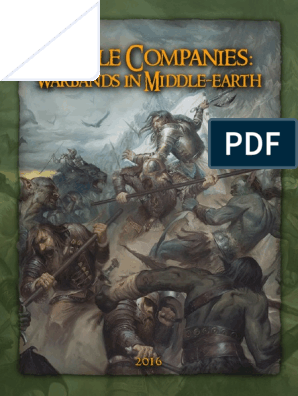 Battle Companies 2016 1 | Orc (Middle Earth) | Middle Earth