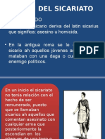 Origen Del Sicariato