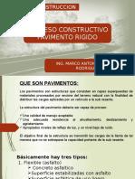 Clase de Pavimentro Rigido Rigido 2016-2