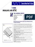 Insulate an Attic