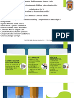 Clase AdministracionV Cap1.Administración y Competitividad Estratégica
