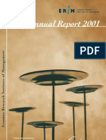 ERIM annual report 2001 final