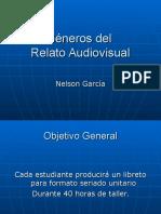 Generos Del Relato Audiovisual Cine