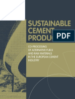 Co-processing of Afr in Euro Cement Industry Cembureau 2009