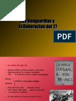 Las Vanguardias y generación del 27