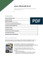 Konfkompass - Jesus, Minecraft und ich (PDF hochauflösend für Druck)