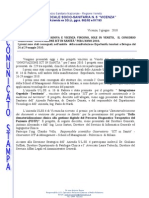 2010-06-03 | Comunicato stampa ULSS 6 Vicenza