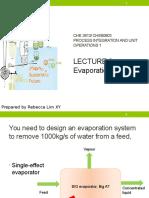 Lecture 3 PIU1 0316- Evaporation 3