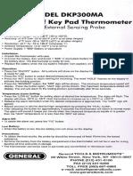 Dkp300ma-Manual Gt 050409