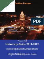 Phnom Penh University Guide 2011-2012