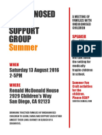 undiagnosed support group mtg aug 2016