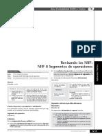 ejemplos NIIF 8