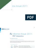 2011 REPORTE ANUAL BBVA