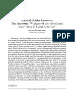 "Anton Rosenthal article ""Radical Border Crossers"