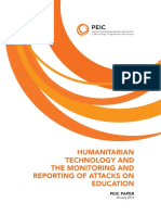 Humanitarian Technology and the Monitoring and Reporting of Attacks on Education