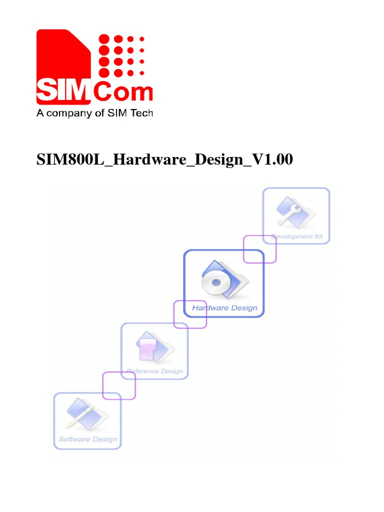 SIM800L Hardware Design V1 00 | General Packet Radio Service | Power