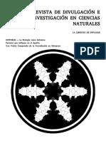 Volumen II (2014) - Revista de Divulgación e Investigación en Ciencias Naturales