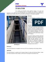 Equipment Catalogue API Oil Separator