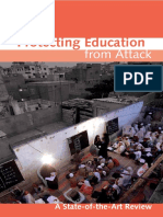 Protecting Education From Attack, State of Art Review