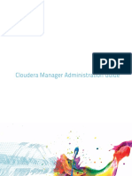 Cloudera Manager Administration Guide