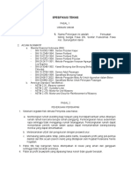 Spesifikasi Teknis Perkuatan Tebing Sungai