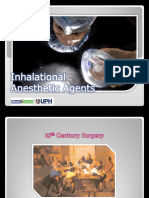 4 - Inhalational Anesthetics