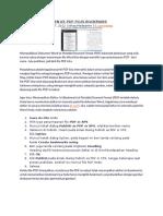 Publikasi Dokumen Ke PDF Plus Bookmark