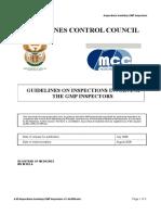 4.09 Inspections Involving GMP Inspectors