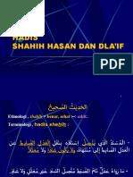 hadis  (Sahih-Hasan-Dlaif)