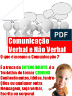 Comunicação Verbal e Nao Verbal