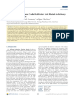 Integration of Nonlinear Crude Distillation Unit Models in Refinery