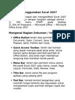 Memulai Menggunakan Word 2007