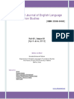 English as a Global Language Phenomenon and the Need of Cultural Conceptualizations Awareness in Indonesian ELT