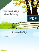 Anomali Gigi Dan Rahang
