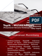 Presentasi Musrenbang