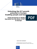 1ExecutiveSummary-UnlockingtheICTGrowthPotentialinEuropeEnablingpeopleandbusinesses
