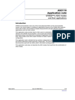 AN3116 ADC Modes and Applications