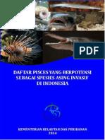 DAFTAR PISCES YANG BERPPOTENSI SEBAGAI SPESIES ASING INVASIF DI INDONESIA.pdf