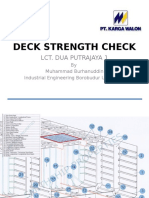 LCT Deck Strength Check (Simulation Only)