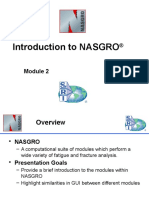 Module 2 - Introduction to NASGRO