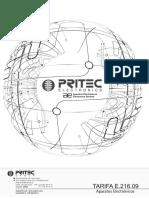 Tarifa P.v.P. Aparatos Electrónicos PRITEC E216.09