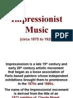 impressionist music