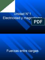 Clase 1 Física 4°medio Fuerzas entre cargas 2016