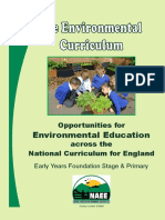 NAEE the Environmental Curriculum
