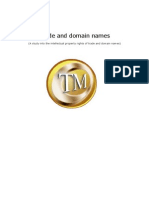 Report Trade and Domain Names Versie 18-02