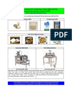 Soya Processing Unit Project Profile