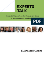 Ten Experts Talk