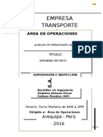 informe tecnico transesa